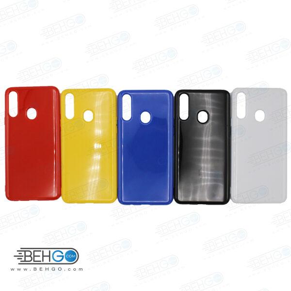 قاب گوشی سامسونگ A20S کاور محافظ رنگی مناسب A20S گارد نرم و منعطف سامسونگ Color Case Samsung Galaxy A20S