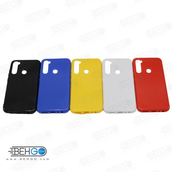 قاب Note 8 شیائومی محافظ رنگی نوت 8 کاور نرم و منعطف شیائومی ردمی Color Case Xiaomi Redmi Note 8