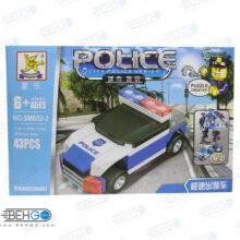لگو ماشین پلیس LEGO POLICE CAR