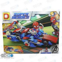 لگو مرد عنکبوتی با ماشین سایز بزرگ LEGO SUPER HEROES
