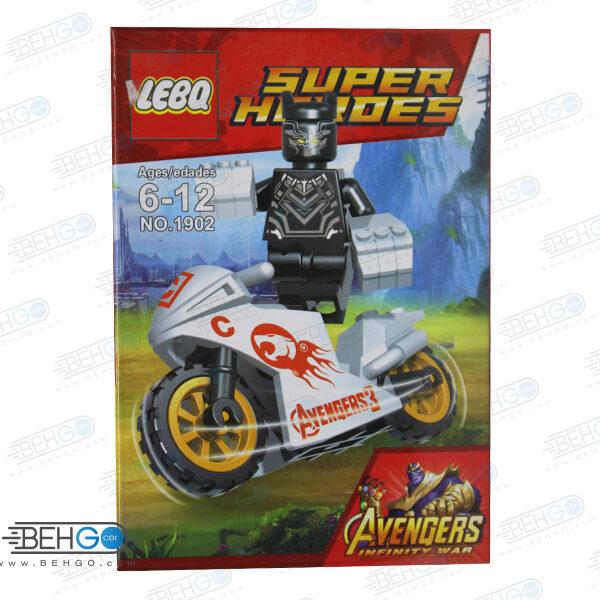 لگو موتور سوار LEGO SUPER HEROES MAN