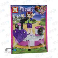 لگو LEGO دخترانه خواننده FRIENDS