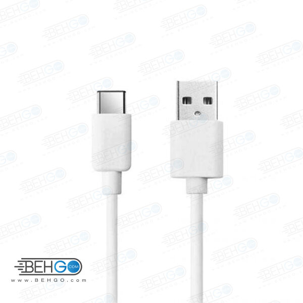 کابل سر کارتن شارژ سریع شیائومی تایپ سی کابل اصلی سرجعبه تایپ سی شیائومی سازگار با هواوی،الجی و سایر گوشی های تایپ سی Best Xiaomi original Type-C Cable usb type c