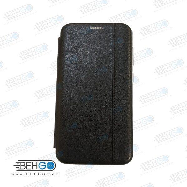 کیف گوشی سامسونگ A31 مدل کلاسوری ا31 کاور قاب A31  کیف گوشی Leather Flip Cover Samsung Galaxy A31