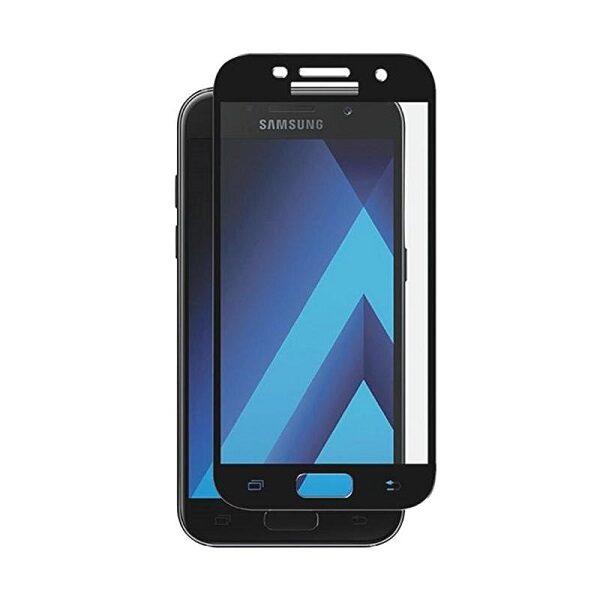 گلس A710 محافظ صفحه نمایش تمام چسب  گوشی سامسونگ گلکسی آ7 Glass Full Samsung Galaxy A7 2016