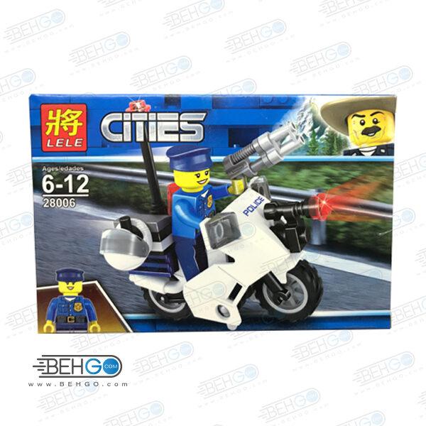 اسباب بازی فکری لگو LEGO 28006 موتور پلیس