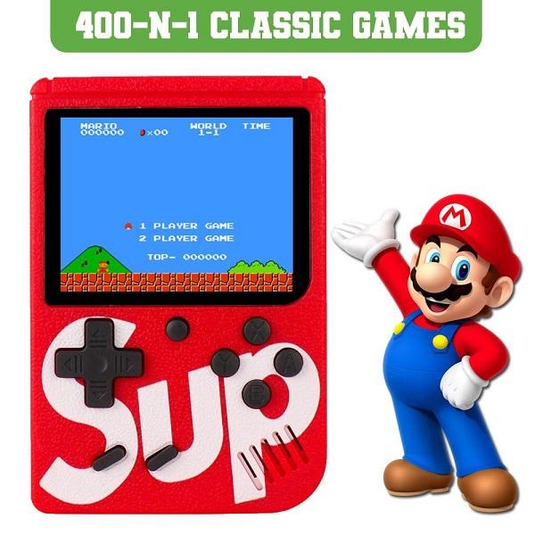 اتاری دستی کنسول بازی قابل حمل اصلی ساپ گیم باکس مدل پلاس Sup Game Box Plus 400