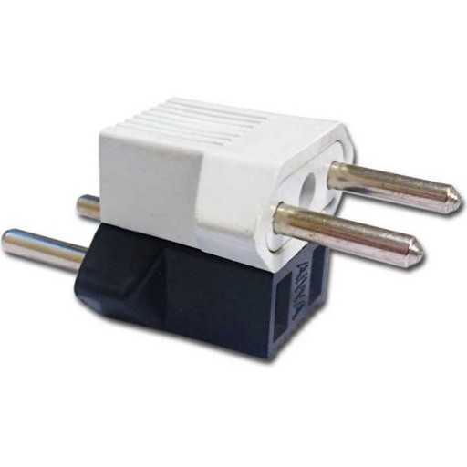 تبدیل 2 به 2 برق مناسب برای شارژر گوشی موبایل ایفون تبدیل برق دو به دو