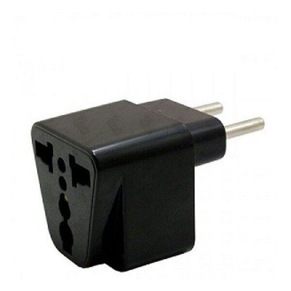 تبدیل 3 به 2 مدل پرهام 3به2 مناسب اداپتور شارژر برای پریز ایران USA US UK AU To EU Europe Iran Travel Charger Power Adapter Converter Wall Plug Home