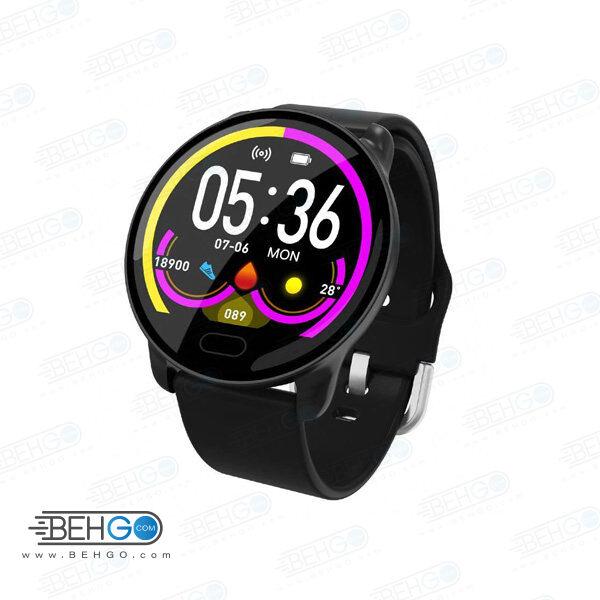 ساعت هوشمند اسمارت بریسلت مدل k9 بند سیلیکونی Smart Berry K9 Smart Watch