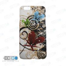 قاب طرح دار گوشی آیفون 6/ 6 اس iphone 6/6s طرح سه پروانه case For Iphone 6/6s