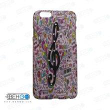قاب طرح دار گوشی آیفون 6/ 6 اس iphone 6/6s طرح موسیقی case For Iphone 6/6s