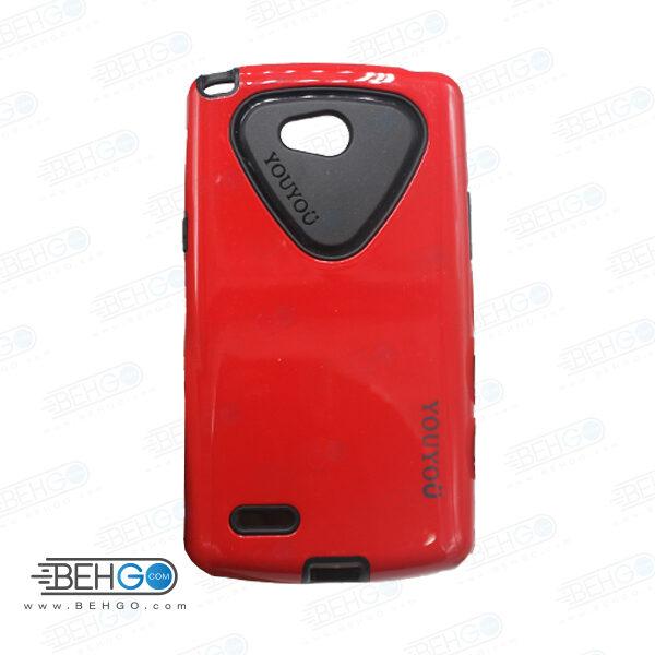 قاب یویو گوشی الجی ال 80 L80 رنگ قرمز case For LG L80