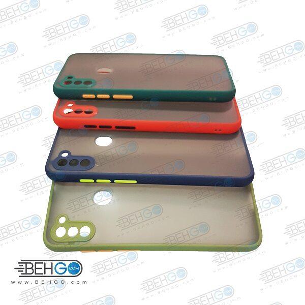 قاب A11 کاور محافظ ا11 گارد مدل پشت مات اصلی دور سیلیکونی گوشی سامسونگ Fashion Case For Samsung A11