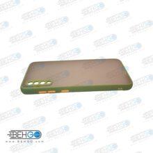 قاب A70 محافظ دور رنگی کاور آ هفتاد پشت مات با برجستگی لنز دوربین سامسونگ Fashion Case Samsung A70/70s