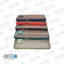 کاور محافظ قاب گوشی شیائومی ردمی نوت 9 اس گارد مدل پشت مات اصلی دور سیلیکونی با برجستگی محافظ لنز دوربین برای گوشی شیائومی Fashion Case For Xiaomi Redmi Note 9 Pro / Redmi Note 9s / Redmi Note9s