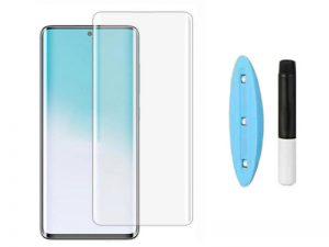 بهترین گلس گوشی سامسونگ Note 20 Ultra محافظ صفحه نمایش شیشه ای سامسونگ نوت بیست اولترا تمام صفحه نوت 20 الترا با پوشش کامل مدل یو وی UV Nano Glass For Samsung Galaxy Note20Ultra / Note 20 Ultra
