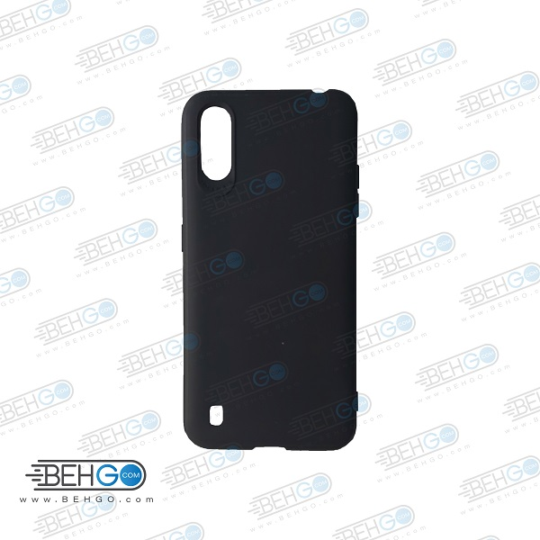 قاب A01 کاور A01 مدل تی پی یو ژله ای گوشی موبایل سامسونگ ای 01 2020 محافظ قاب سامسونگ TPU Case For Samsung Galaxy A 01 A015 / A01