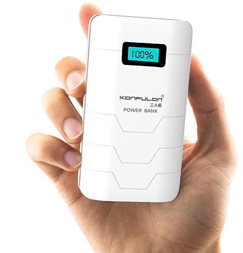 پاور بانک 10000 کانفلون اورجینال مدل کپسول شارژر همراه 10 هزار میلی امپر ساعت Konfulon Capsule 10000mAh Power Bank