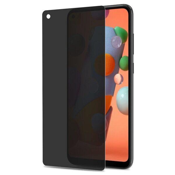 گلس حریم شخصی پرایوسی سامسونگ M11 ، A11 و شیائومی ردمی نوت 9 محافظ صفحه نمایش شیشه ای مشکی خصوصی Privacy Glass for Samsung Galaxy M11 / A11 / Xiaomi Redmi 10X / Redmi Note 9