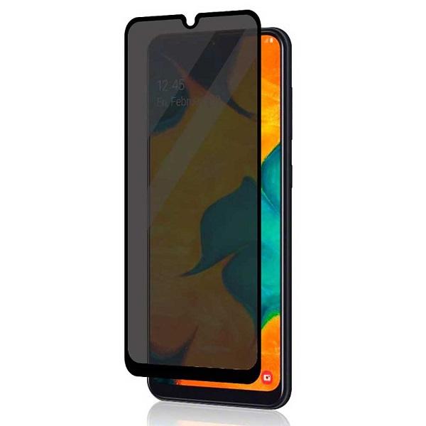 گلس حریم شخصی گوشی سامسونگ A20S پرایوسی A20S محافظ صفحه نمایش شیشه ای مشکی خصوصی Privacy Glass for Samsung Galaxy A20S