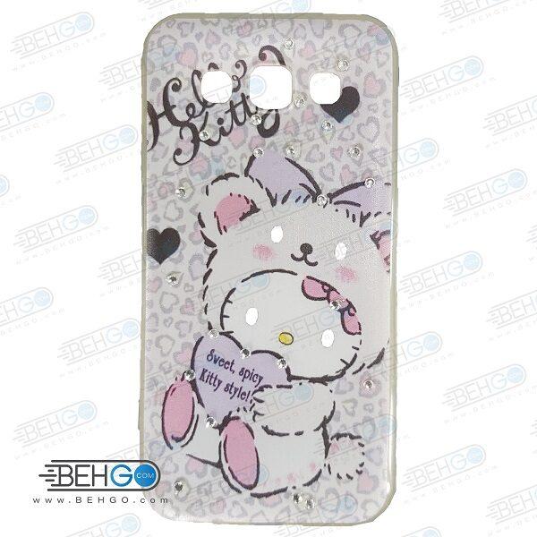 قاب سامسونگ E5 کاور ژله ای گوشی سامسونگ E5 مدل خرس پاندا Samsung Galaxy E5 iFace Case