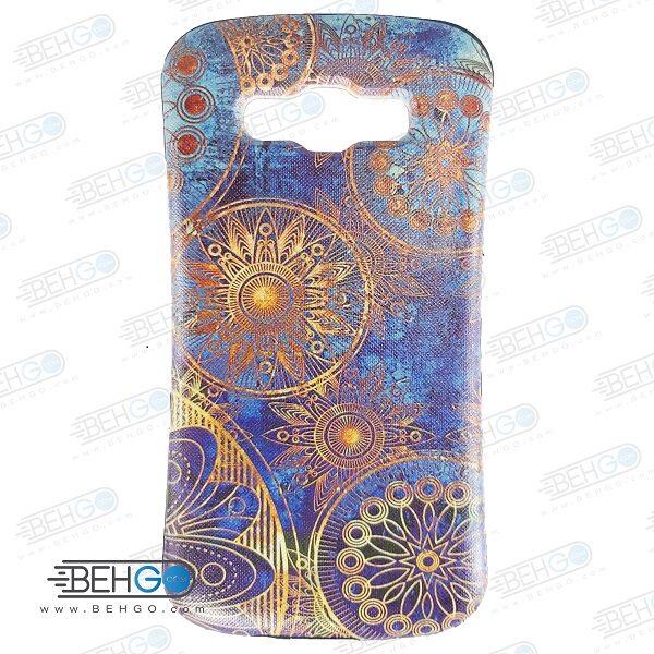 قاب سامسونگ E5 کاور گوشی سامسونگ E5 مدل آی فیس طرح گل منظومه شمسی Samsung Galaxy E5 iFace Case