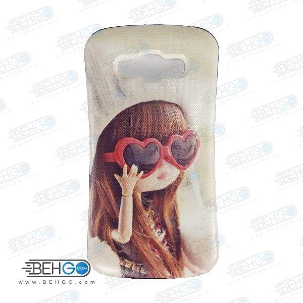 قاب سامسونگ E5 کاور گوشی سامسونگ E5 مدل آی فیس طرح دخترونه1 Samsung E5 iFace case