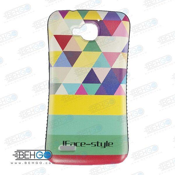 قاب هواوی G750 کاور گوشی هواوی G750 مدل آیفیس مثلث رنگی iFace Huawei Honor 3X G750