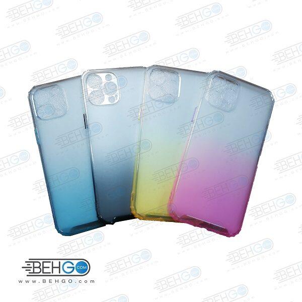 قاب گوشی ایفون 12 پرو کاور Iphone 12 pro گارد ژله ای محافظ اپل 12 پرو جدید 2 رنگ مناسب گوشی New 2 Color CASE COVER For 6.1 inch Apple Iphone 12 Pro