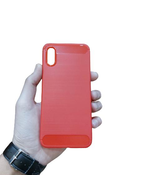 قاب گوشی شیائومی Redmi 9A کاور محافظ مناسب Redmi9 A گارد شیائومی Rugged Armor Fiber Carbon Case Xiaomi Redmi 9A