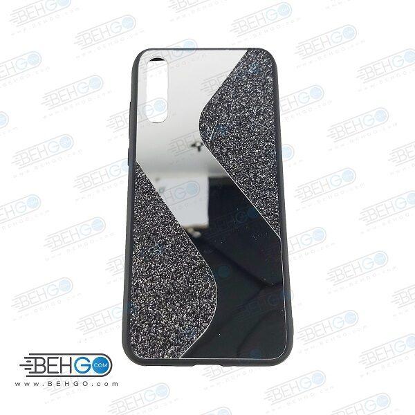 قاب گوشی Y8P قاب فانتزی هواوی وای 8 پی گارد مدل جدید اکلیلی آینه ای مناسب گوشی موبایل هواوی New Mirror glitter case For Huawei Y8P