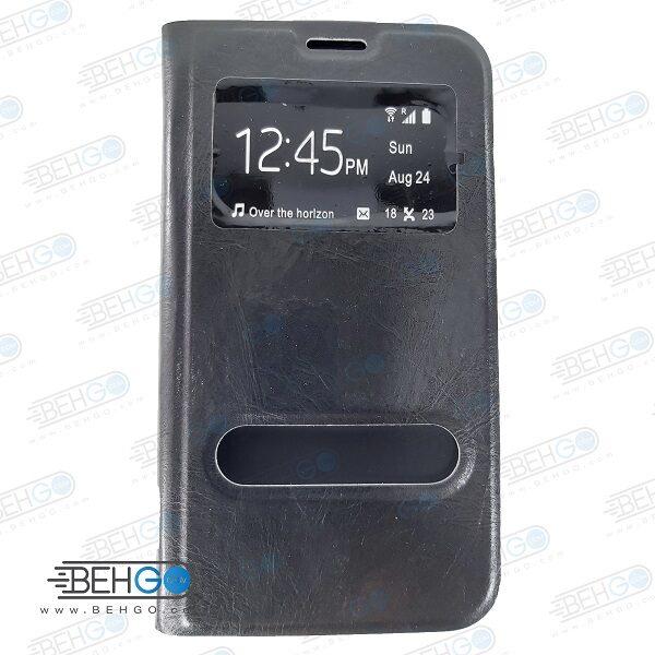 کیف سامسونگ E7 کیف کتابی سامسونگ E7 کیف چرمی گوشی سامسونگ مدل هوشمند ایدی کالر مستر Phone Book Case For Samsung Galaxy E7