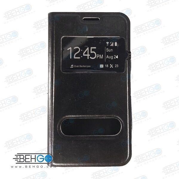 کیف هواوی G610 کیف کتابی گوشی هواوی G610 کاور کلاسوری هواوی G610 مناسب Rexer Huawei Ascend G610