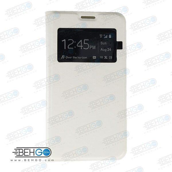 کیف هواوی G750 کیف کتابی گوشی هواوی G750 کاور کلاسوری هواوی G750 مناسب Rexer Huawei Ascend G750