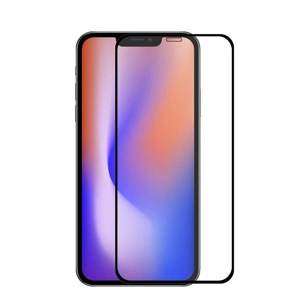 گلس ایفون 12 مینی محافظ صفحه نمایش شیشه ای گوشی موبایل اپل 12 مینی مناسب Full Glass Screen Protector for 5.4 apple iphone 12 mini