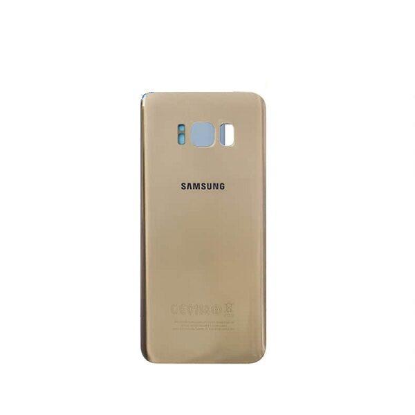 در پشت سامسونگ اس هشت پلاس SAMSUNG S8 PLUS طلایی