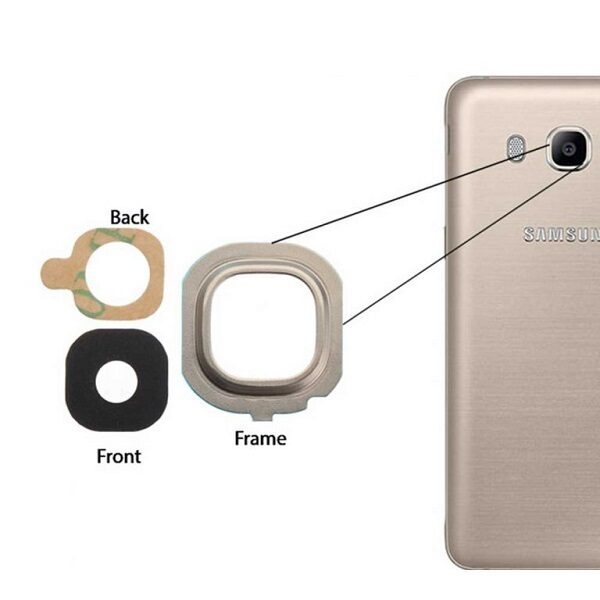 شیشه دوربین سامسونگ Samsung Galaxy J5 2016 J510