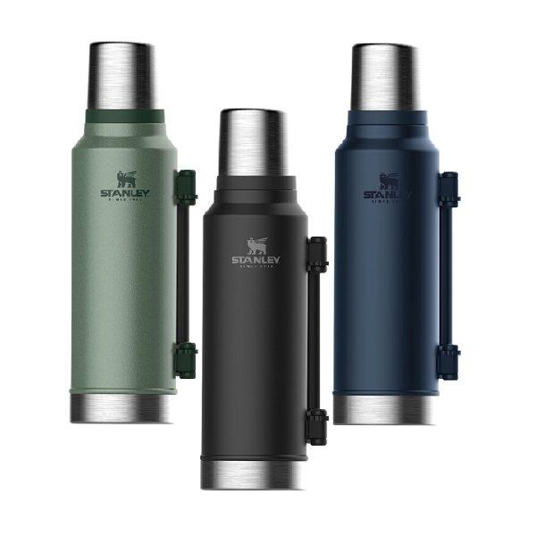 فلاسک کوهنوردی برند استنلی مدل کلاسیک حجم ظرفیت 1.9 لیتری با ارسال ریگان STANLEY The Legendary Classic Bottle 1.9L