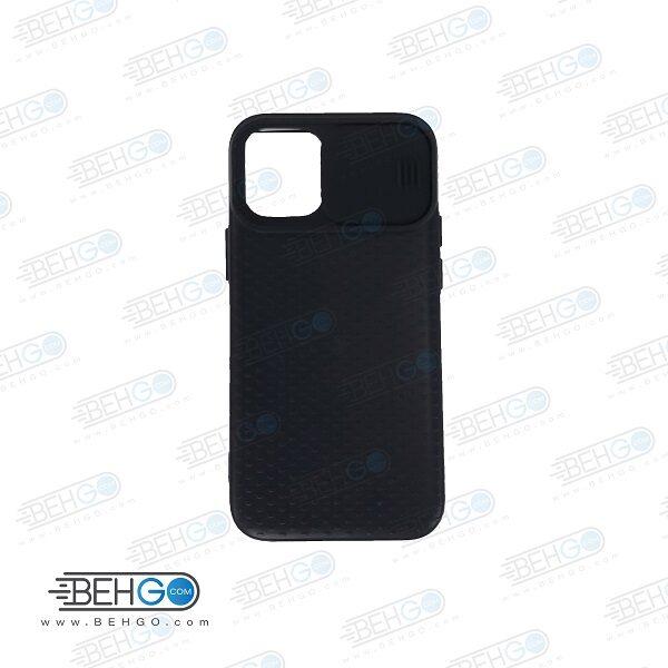 قاب آیفون 12 مینی کاور ایفون 12 مینی طرح camshield tpu محافظ ژله ای ایفون دوازده مینی چمشیلد تی پی یو  Nillkin CamShield Pro cover case for Apple iPhone 12 Mini 5.4