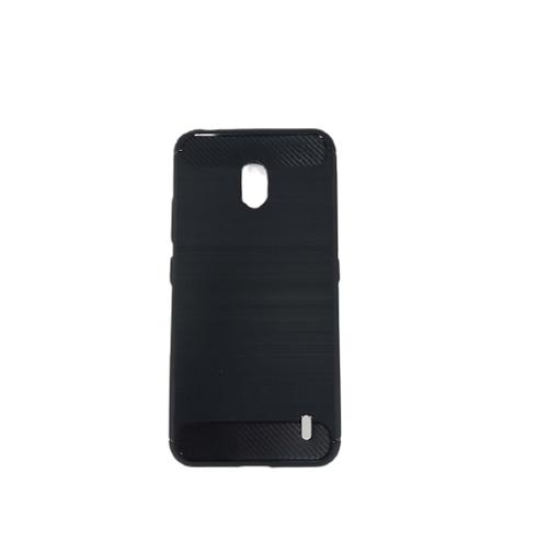 قاب نوکیا 2.2 کاور نوکیا2.2 محافظ ژله ای نوکیا مدل Nokia 2.2 Rugged Armor Fiber Carbon