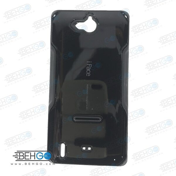 قاب هواوی Honor 3c کاور گوشی هواوی G740 مدل آی فیس مشکی رنگ قاب هواوی آنر تری سی Samsung Galaxy G740 iFace Case