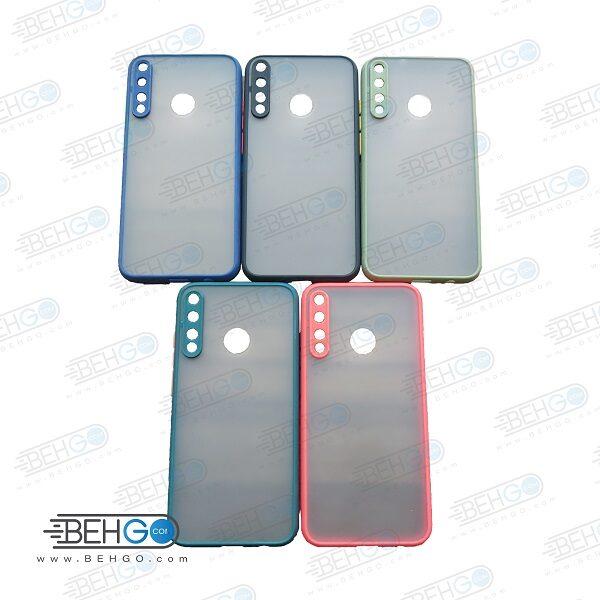 قاب هواوی Y7p کاور هواوی وای 7 پی محافظ دور سیلیکون رنگی کاور پشت مات با برجستگی لنز دوربین هواوی وای هفت پی 2020 Fashion Case Huawei Y7p