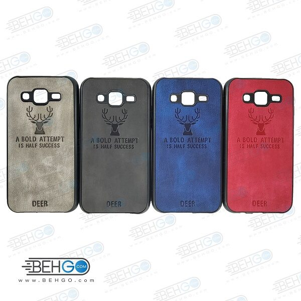 قاب گوشی سامسونگ جی 5مدل گوزن کاور گوشی مناسب سامسونگ Best Deer Case for Samsung Galaxy j500/J5 2015