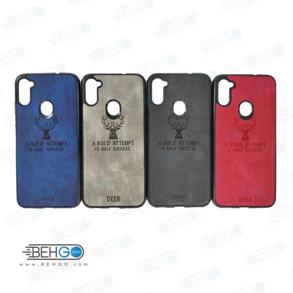 قاب گوشی سامسونگ A11 و M11 کاور A11 و M11 گارد محافظ گلکسی ا11 مدل طرح گوزن قاب Best Deer Case For Samsung galaxy M11 / A11