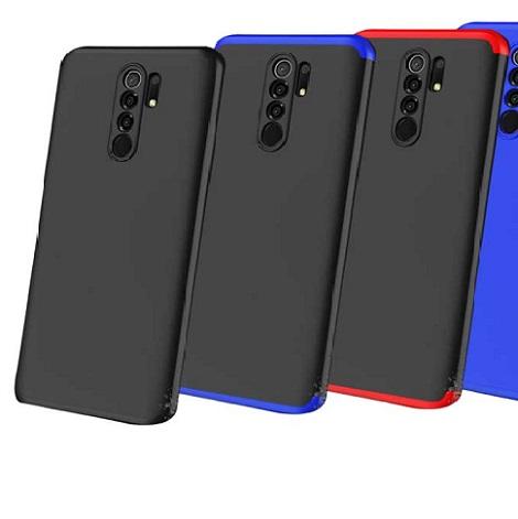 قاب گوشی شیائومی ردمی 9 کاور محافظ ردمی9 گارد مدل GKK 360 Full Cover Protection Case for Xiaomi Redmi 9