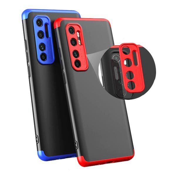 قاب گوشی Mi Note 10 Lite کاور محافظ می نوت 10 لایت گارد گوشی شیائومی GKK 360 Full Cover Protection Case for Xiaomi Mi Note 10 Lite