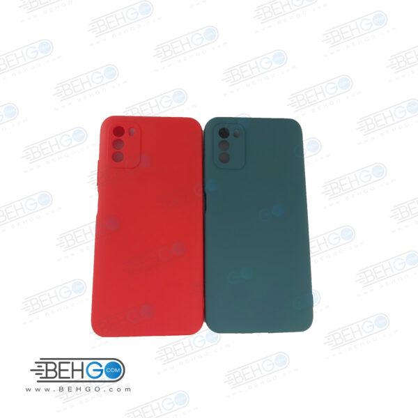 قاب Poco M3 قاب گوشی شیائومی Poco M3 مدل طرح سیلیکونی کاور محافظ سیلیکونی گوشی شیائومی پوکو ام 3 Silicone for Xiaomi Poco M3