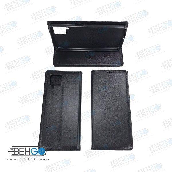 کیف گوشی سامسونگ A12 مدل کتابی کلاسوری  A12