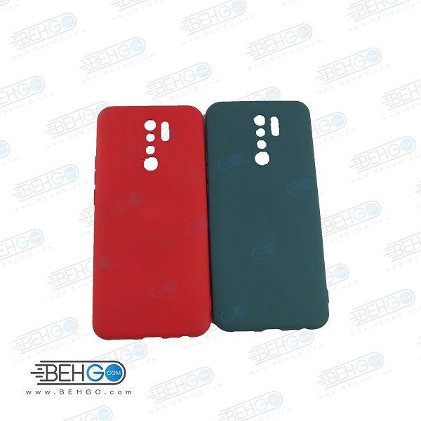 قاب Redmi 9  قاب گوشی شیائومی Redmi 9 مدل طرح سیلیکونی کاور محافظ طرح سیلیکونی گوشی شیائومی ردمی نه Silicone Case jelly for xiaomi redmi 9